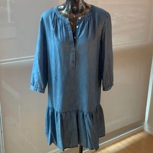 Loft chambray dress.  Size S.